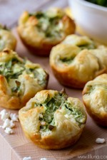 Spinach Cheese Puffs Recipe