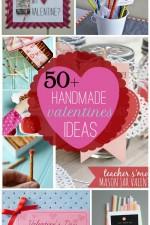 50+ Handmade Valentines Ideas on { lilluna.com } #valentines