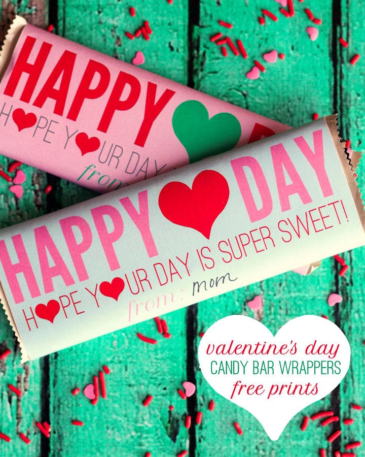 Free valentines candy bar wrappers for Valentine candy bar wrapper templates