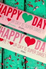 FREE Valentine's Day Candy bar Wrappers - CUTE!