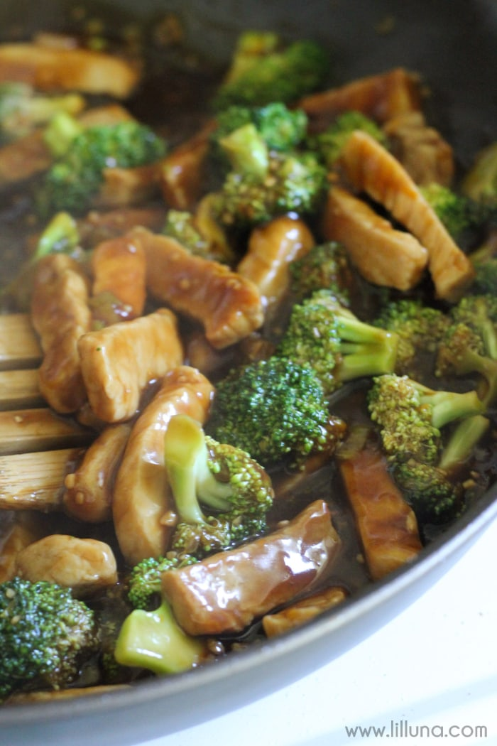 Pork and Broccoli Stir-Fry! If you love Asian food, you'll love this simple and delicious dinner recipe. Lots of flavor!!