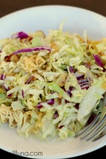 Asian Ramen Salad on { lilluna.com } LOVE this recipe! #salad