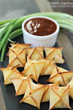 Baked Cream Cheese Rangoon