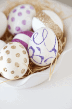 DIY Glitter Eggs - so pretty!!