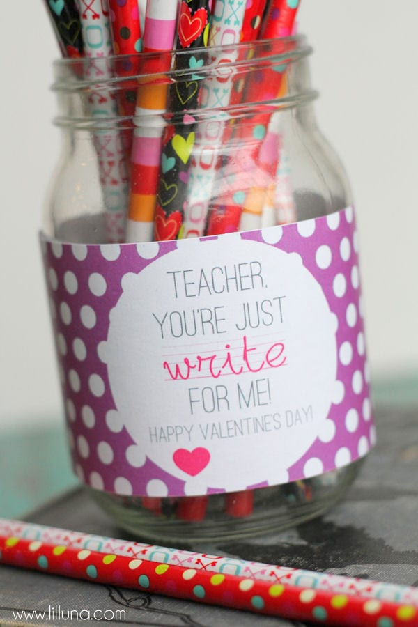 valentines teacher gift
