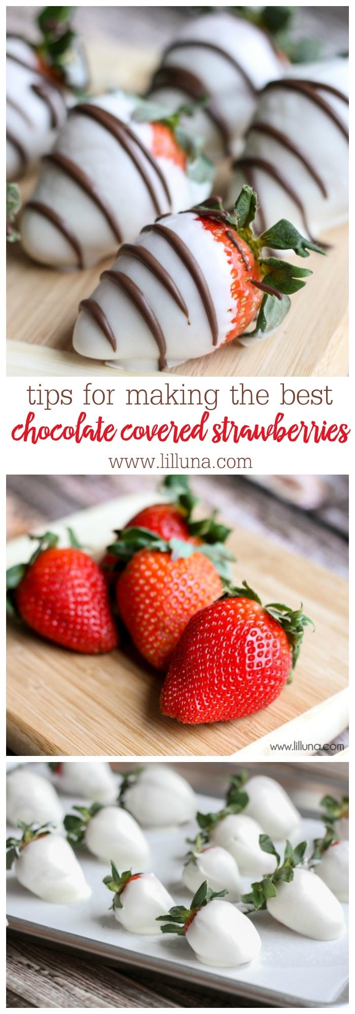 Tips on How to Make Perfect Chocolate Covered Strawberries - one our favorite treat recipes!