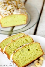Super delicious Frosted Pistachio Bread { lilluna.com }