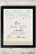 FREE Create Your Own Sunshine Print on { lilluna.com } #Printable