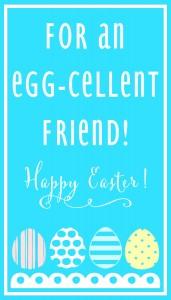 Egg-Cellent Friend-BLUE Print