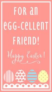 Egg-Cellent Friend-PINK Print