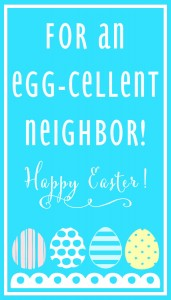Egg-Cellent Neighbor-BLUE Print