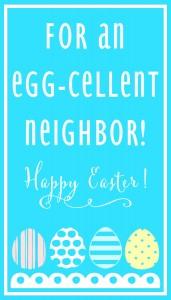 Egg-Cellent Neighbor-BLUE Print
