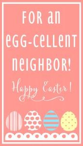 Egg-Cellent Neighbor-PINK Print
