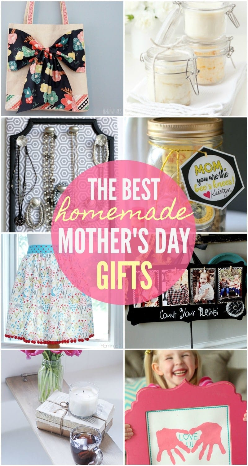 BEST Homemade Mothers Day Gifts - so many great ideas! | Lil\' Luna