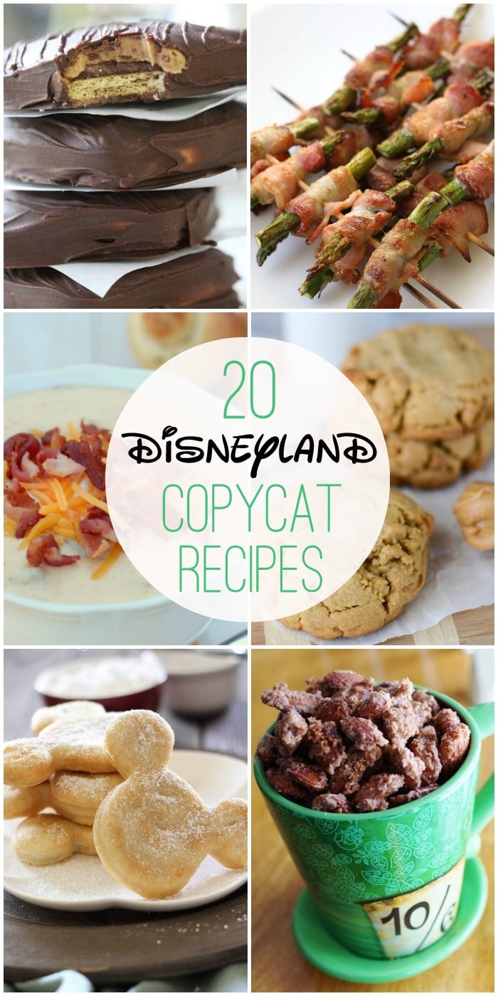 20+ Disneyland Copycat Recipes - now you can have all of your Disneyland favorites without having to make the trip!! { lilluna.com }