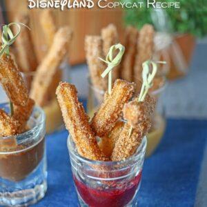 Disneyland Churro Bites by Gina @ Kleinworth & Co.
