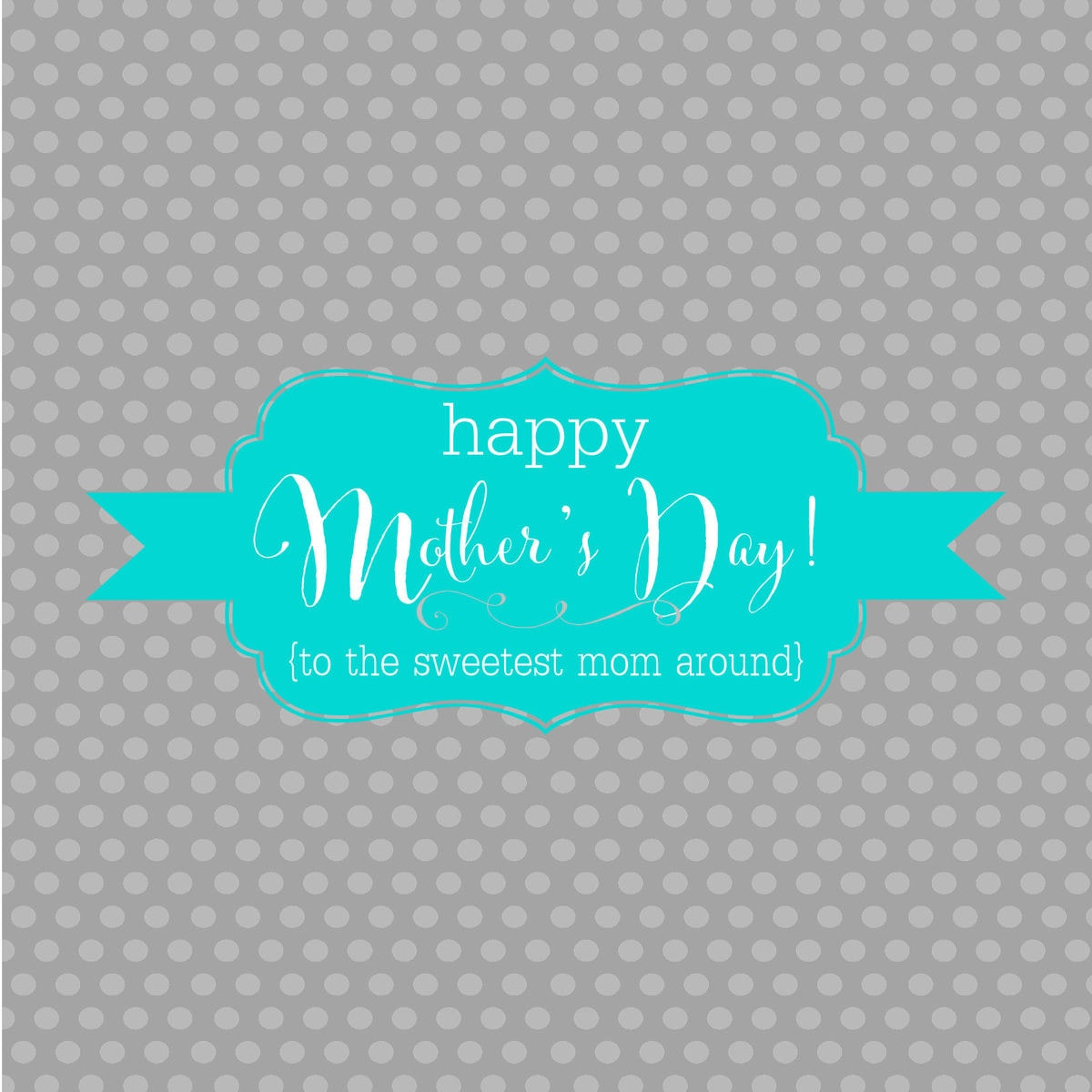 Happy Mothers Day Candy Bar Wrappers - GRAY
