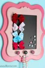 Framed Magnetic Bow Holder