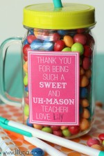 Sweet and Uh-Mason Teacher Gift