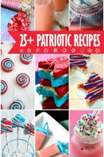 25+ Patriotic Recipes - red, white, and blue drinks, treats, and desserts!! { lilluna.com }
