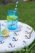 DIY Nautical Beverage Tray