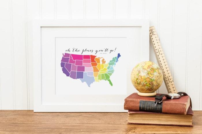 Rainbow-Map