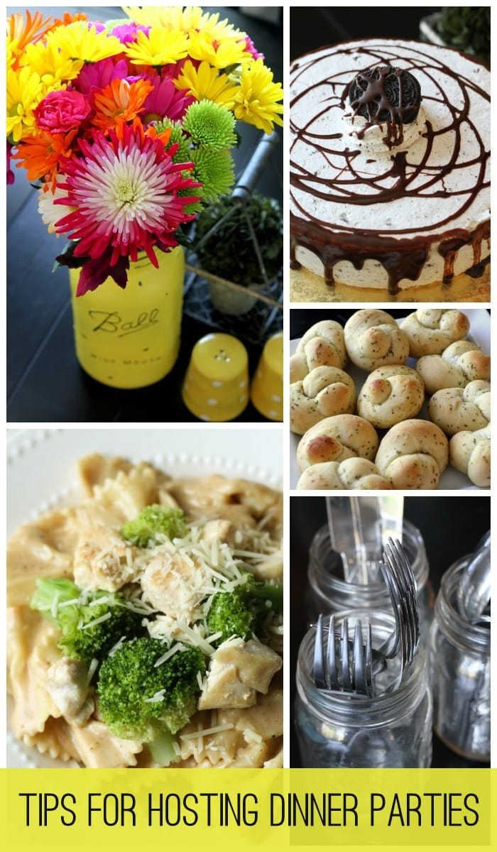 Tips on Hosting Dinner Parties { lilluna.com }