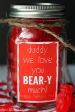 Father's Day Jar Gift
