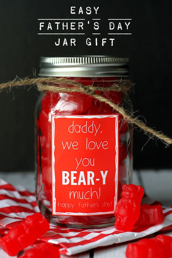 Father S Day Jar Gift