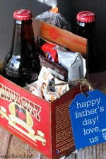 Father's Day Soda Caddy Gift