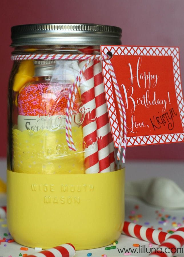 20+ Inexpensive birthday gift ideas - must check out all these good ideas for easy and inexpensive gifts! on { lilluna.com }