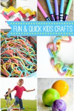 20+ Fun and Quick Kids Crafts
