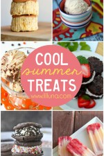 A roundup of treats to cool you off in the summer heat! Must see on { lilluna.com }
