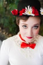Mary Poppins Photo Shoot + Mary Poppins Hat Tutorial