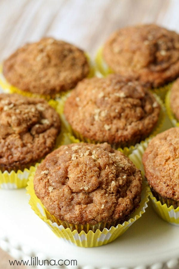 Banana Crumb Muffins recipe - simple and perfect for those over-ripe ...