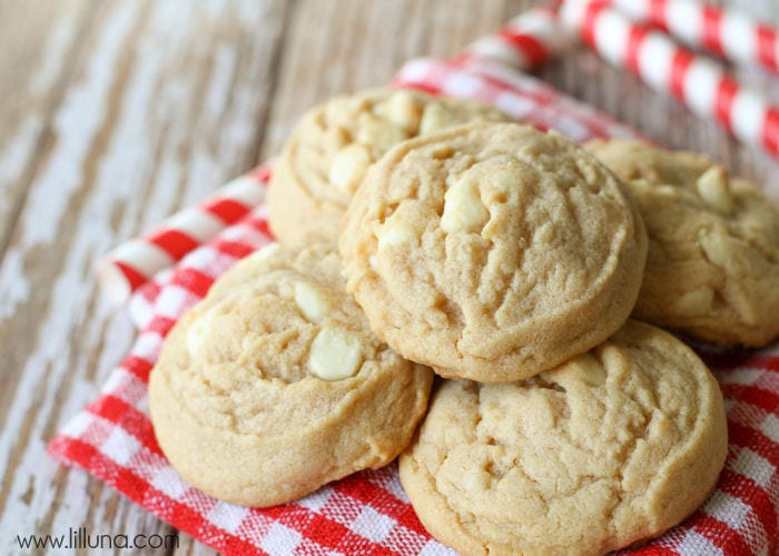 White chocolate cinnamon cookie recipe