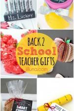 Back 2 School Teacher Gifts
