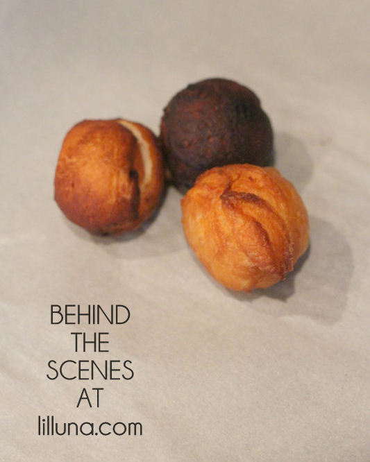Behind the Scenes - Biscuit Donuts