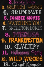 FREE Halloween Fonts - so many great ones to use in your own creations on { lilluna