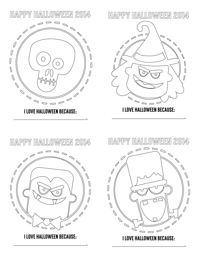 Jello Coloring Pages Free Halloween Coloring Pages