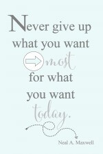 Never Give Up…