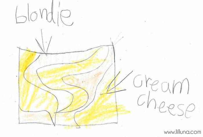 The Game Plan - Cream Cheese Blondies