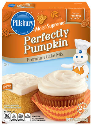 Perfectly Pumpkin Cake Mix