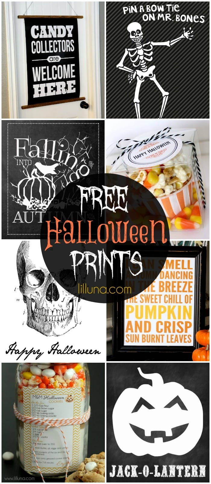 65+ FREE Halloween Printables!! A must see roundup on { lilluna.com } Lots of great ideas!!!