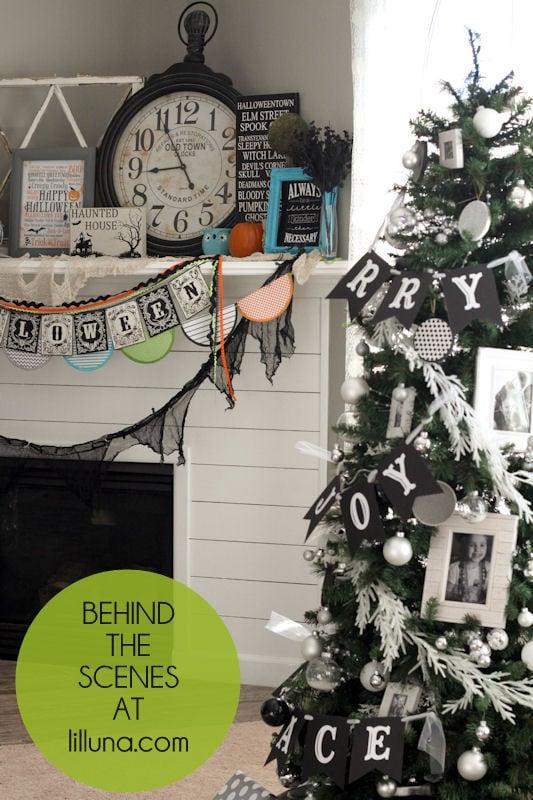Behind the Scenes - Michael's Christmas Tree