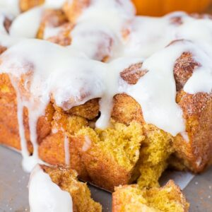 Pumpkin Bubble Bread