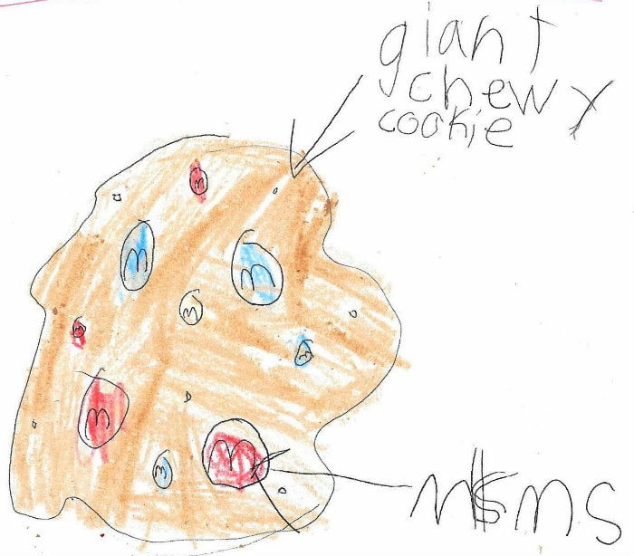 The Game Plan - Giant Chewy M&M Cookies