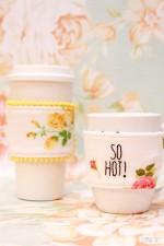 Fabric Mug Cozy Tutorial