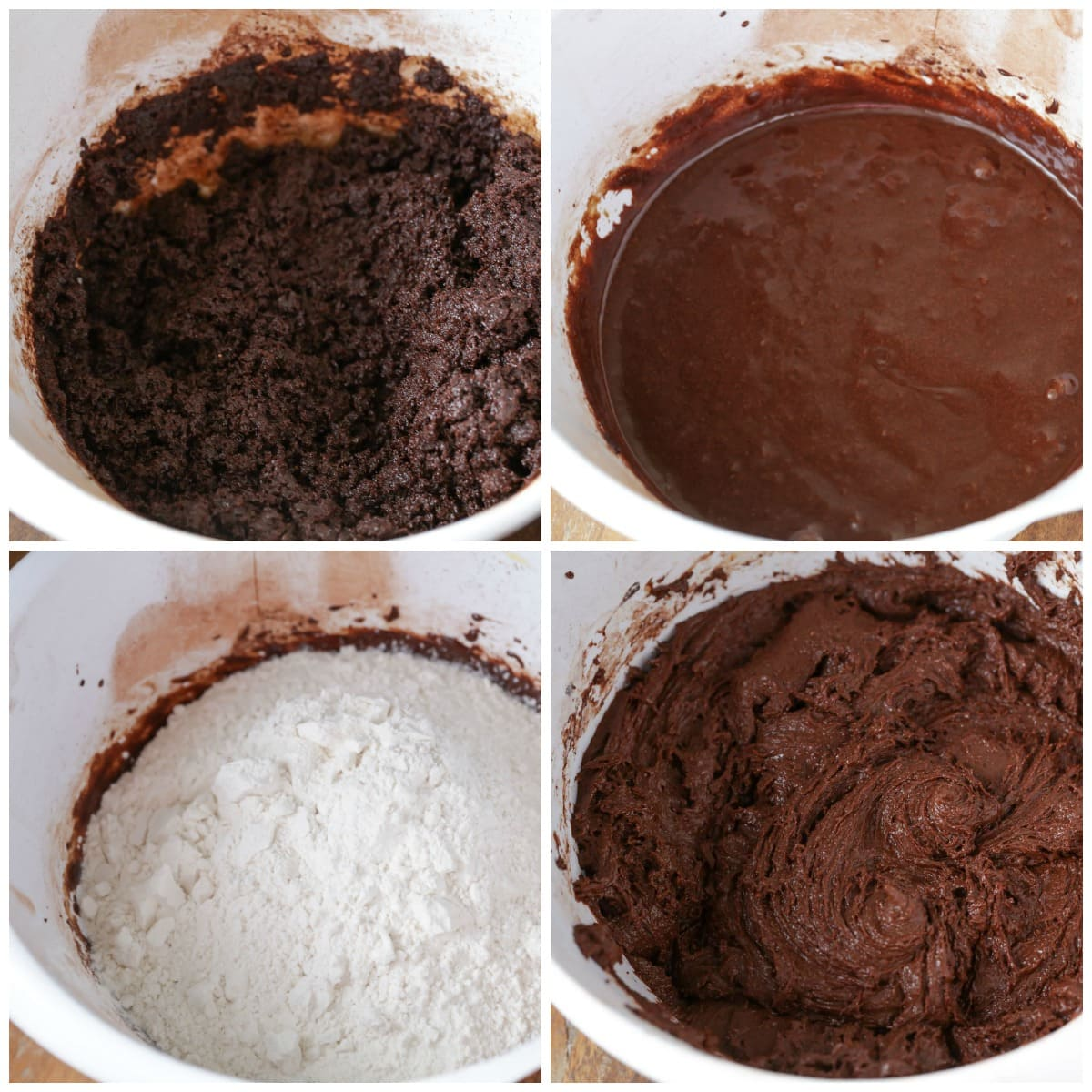How to make Chocolate Crinkles process pics