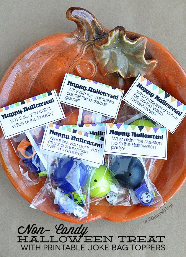 20 non candy halloween treats on lillunacom fun